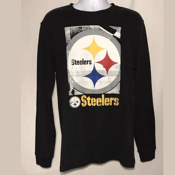 78a45759e NFL TEAM APPAREL PITTSBURGH STEELERS MENS SHIRT